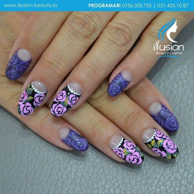 Signature Nails By Elena Vasilache, Illusion Beauty. Acrylic Nails  instagram: illusion beauty center www.illusion-beauty.ro