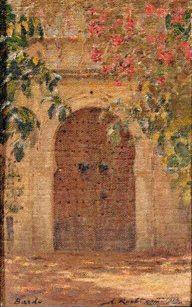 979 best Algerie en peinture images on Pinterest Canvases, Oil on - peinture porte et fenetre