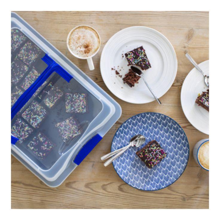 Sjokoladekake i langpanne med lokk )