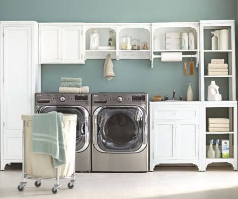 Martha Stewart Laundry Room Lavish Laundry Rooms Pinterest