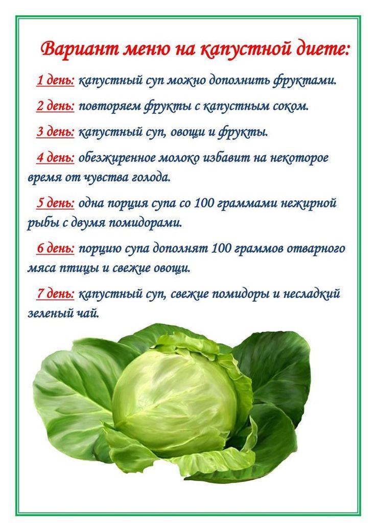 5 Дней Капуста Диета. Капустная диета – похудение за 10 дней