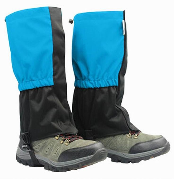 Practical Outdoor Hiking Gaiters Boot Gaiters Leg Gaiters, Blue, 14.57'' ^^ Awesome product. Click the image : Backpacking gear