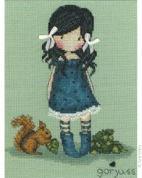 Gorjuss Counted Cross Stitch Kit - You Brought Me Love
