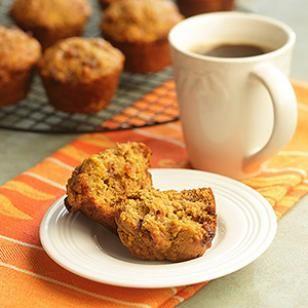 Orange-Date Pumpkin Muffins Recipe
