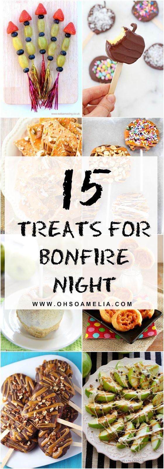 best bonfire night treats