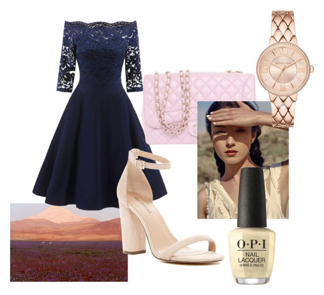 """Untitled #337"" by alex-reid-faulkner ❤ liked on Polyvore featuring Call it SPRING, Chanel and OPI"
