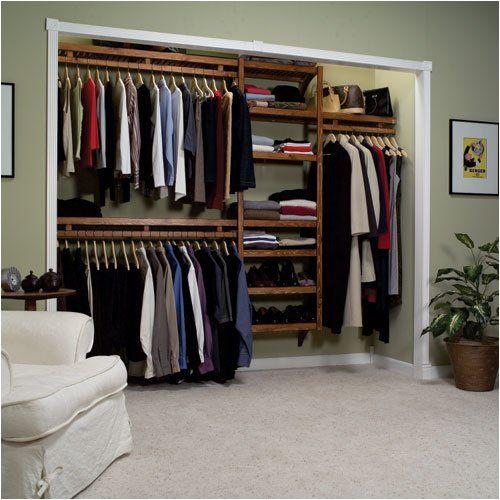 Open Closet Storage Ideas Closets Pinterest Diy