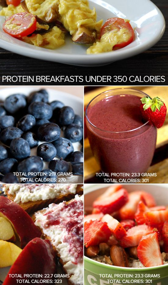 Lose Weight, Gain Energy: 5 High-Protein Breakfasts Under 350 Calories