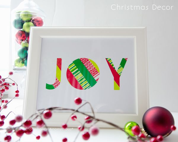 Simple Joy Sign Tutorial #ScotchEXP
