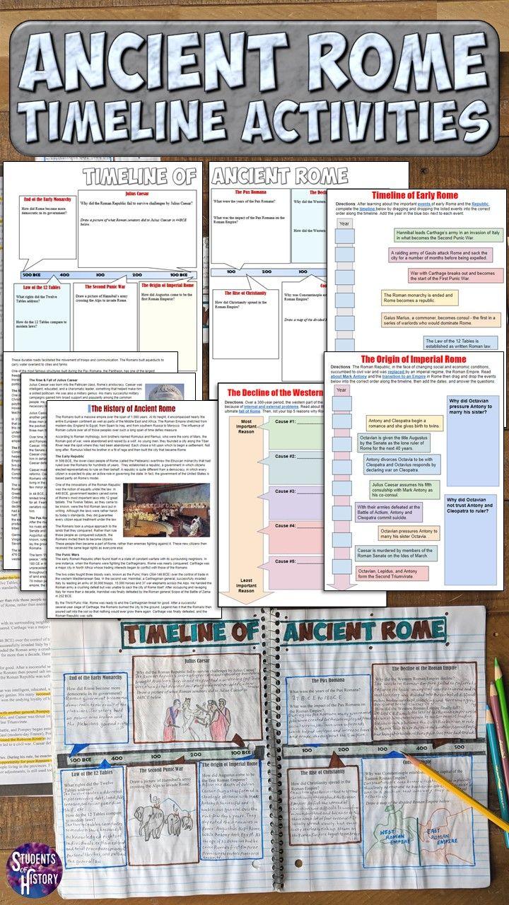 Ancient Rome Timeline   Ancient rome lessons [ 1280 x 720 Pixel ]