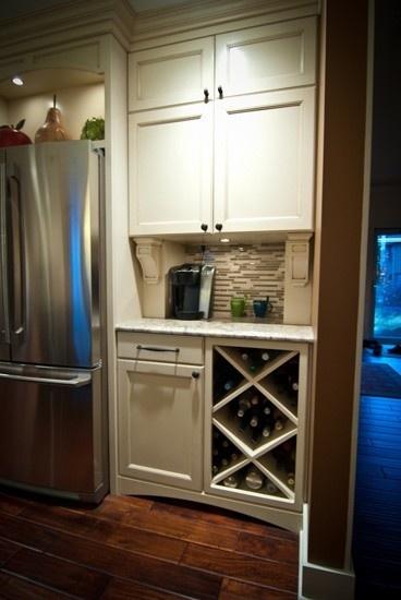Custom Cabinets Creating A Coffee Area Www Woodwayscustom