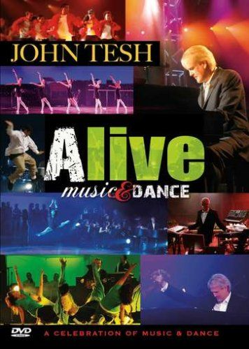 John Tesh: Alive- Music & Dance. Garden City Music. Running time: 100 minutes. The huge production features a cast of nearly one hundred performers including a choir, singers, band, strings and ballet, hip hop and lyrical dancers between the ages of 13 and 21. The show is an unforgettable fusion of music and dance coming together as never before seen on stage. The DVD of ALIVE music&dance is the new concert special by world-class songwriter/musician John Tesh. 14 tracks on DVD.