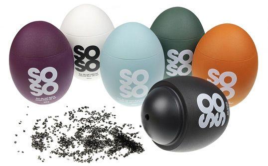 soso, high quality salt. Designed by Eduardo Del Fraile