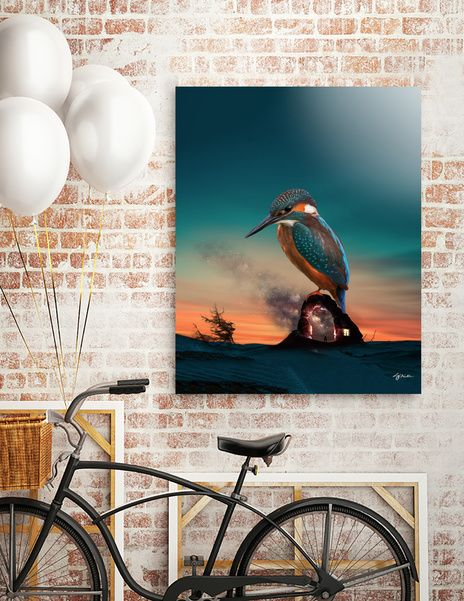 Discover «The guardian», Exclusive Edition Acrylic Glass Print by Stefania Piredda - Giffyart - From 80€ - Curioos