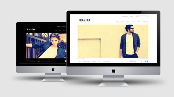 Rustik – Minimalist Creative #OpenCart Premium Template #ResponsiveDesign #html5 #ccs3