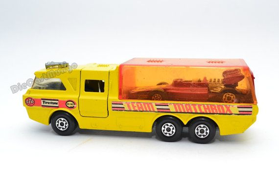 Toy Race Trucks : Matchbox lesney racing car transporter king size k cars
