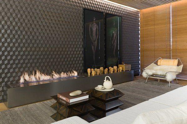 μοναδικές χωρίς ανοίγματα ιδέες σχεδιασμού τζάκι σύγχρονο σαλόνι εσωτερική διακόσμηση