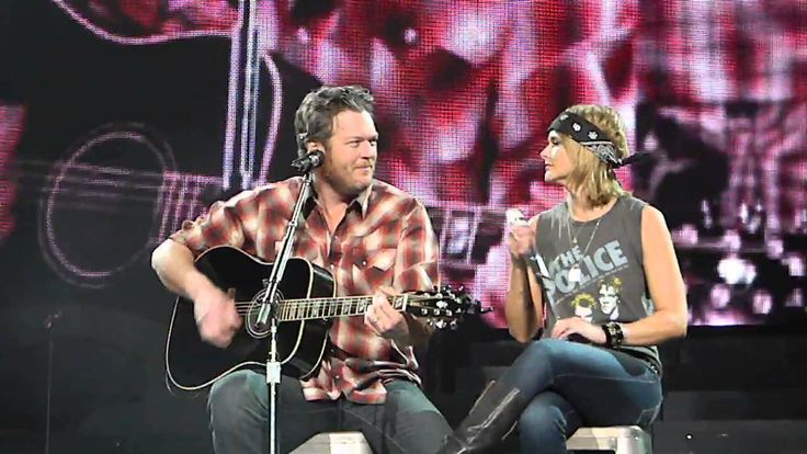 "Miranda Lambert & Blake Shelton ""God Gave Me You"" Wichita KS 3/7/15"
