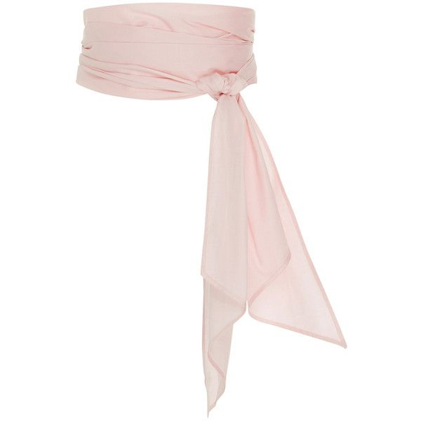 MDS Stripes Pink Everything Scarf ($145) ❤ liked on Polyvore featuring accessories, scarves, belts, pink, pink scarves and pink shawl