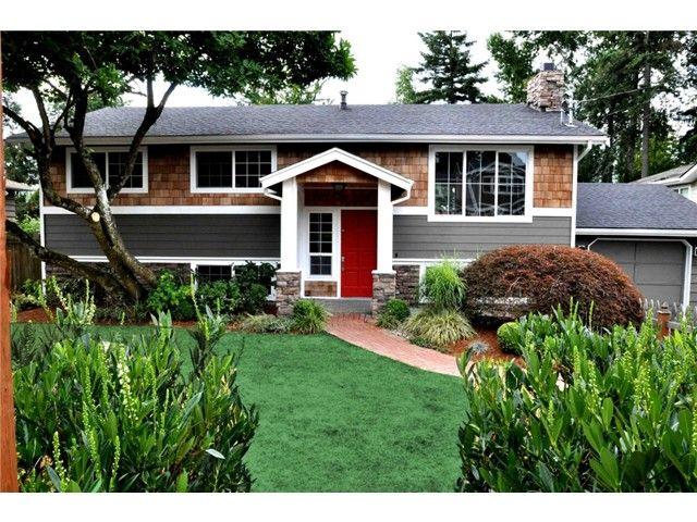 378 best raised ranch designs images on pinterest split for Redesign home exterior