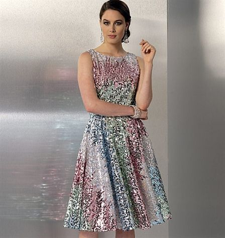 Patron de robe - Vogue 9149