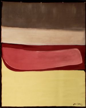 Jane Gray, 'After Kapoor' (2012)  Acrylic on unstretched canvas, 1200 x 1700 mm, POA at the Remuera Gallery