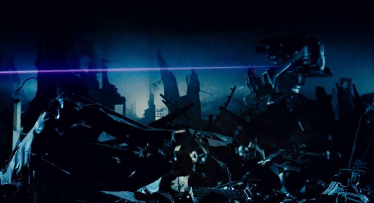 Terminator. Battle with machines