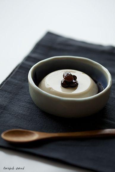 黒豆茶ブラマンジェ