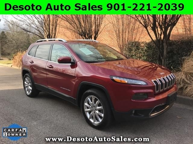 Used 2017 Jeep Cherokee Limited 4WD for Sale in Olive Branch MS 38654 Desoto Auto Sales