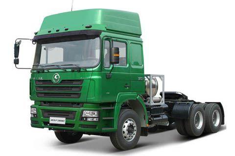 Shacman LNG tractor
