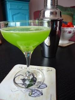 Cocktail 'Pantoufle japonaise' (Japanese slipper)