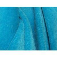 Aqua Cotton Velour - GreenBeans, 150cm wide $7.98/0.5m, $15.95/m