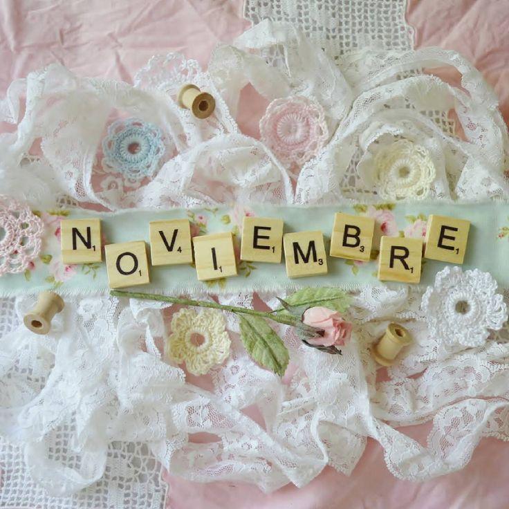 """67 Me gusta, 5 comentarios - Hi! I'm Vilmus (Vilma) (@teacup_and_roses) en Instagram: """"Welcome #november 💗 BIENVENIDO #noviembre  2016 👉Blessings for all 💕 Bendiciones para todos 👈…"""""""