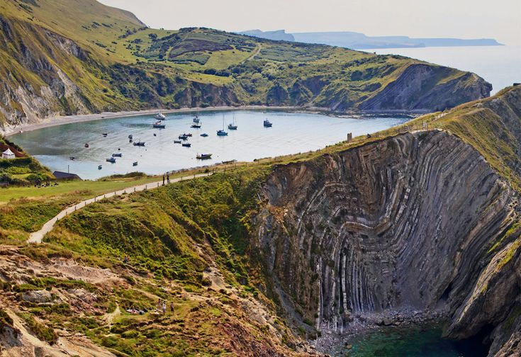 Lulworth Cove, Dorset England. Discover Purbeck