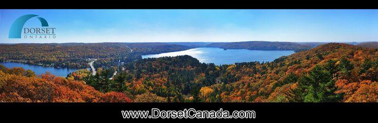 Come and see the fall colours in Dorset, Ontario, Canada! www.DorsetCanada.com