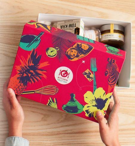 Pour celles et ceux qui sont accros à la cuisine ET aux voyages, Kitchen Trotter est la box idéale. Tous les mois, elle vous emmènera à la découverte d'un pays différent à travers des ingrédi…