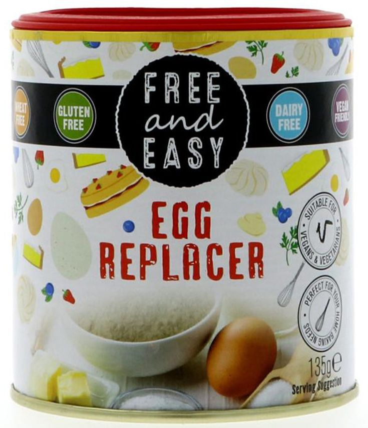 Free & Easy Egg Replacer - 135g - Free & Easy