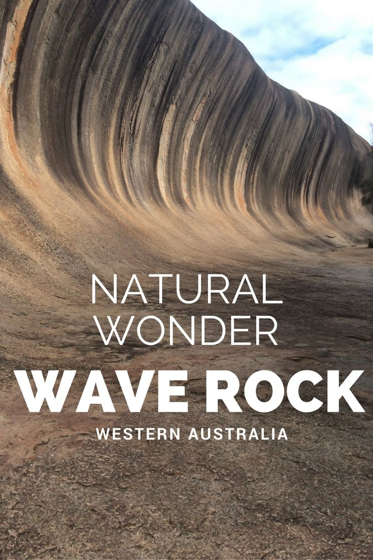A Rock That Looks Like A Wave - Only In Western Australia