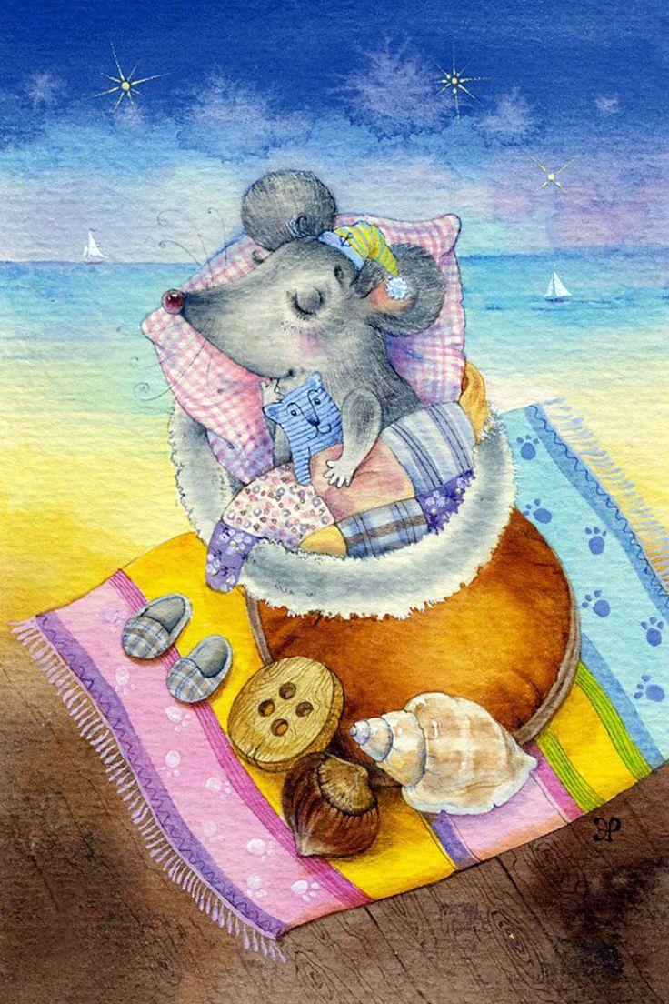 ЭЛИНА РЕПКИНА (МОИСЕЕНКО)  Даже мышкам снится море