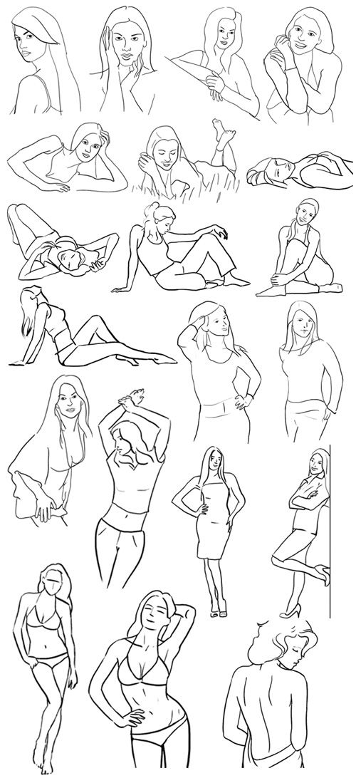 PHOTOGRAPHY :: Posing Guide: 21 Sample Poses to Get You Started with Photographing Women – Part I | #digitalphotographyschool #poses
