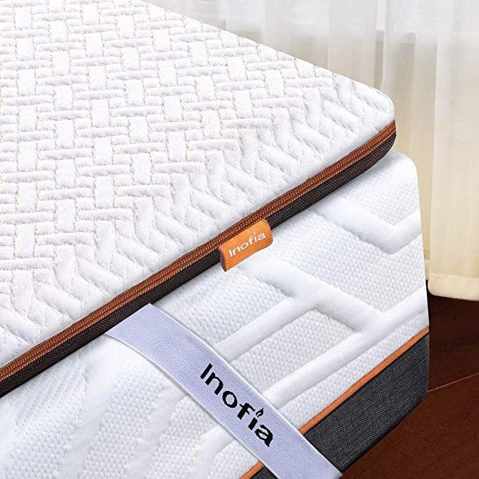 Amazon De Inofia Matratzenauflage 200x200 Memory Foam Topper