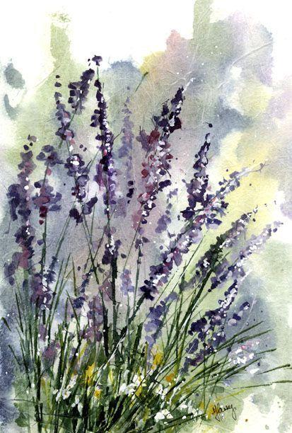 Watercolour Florals: Retrospective : Tissue Paper #watercolorarts