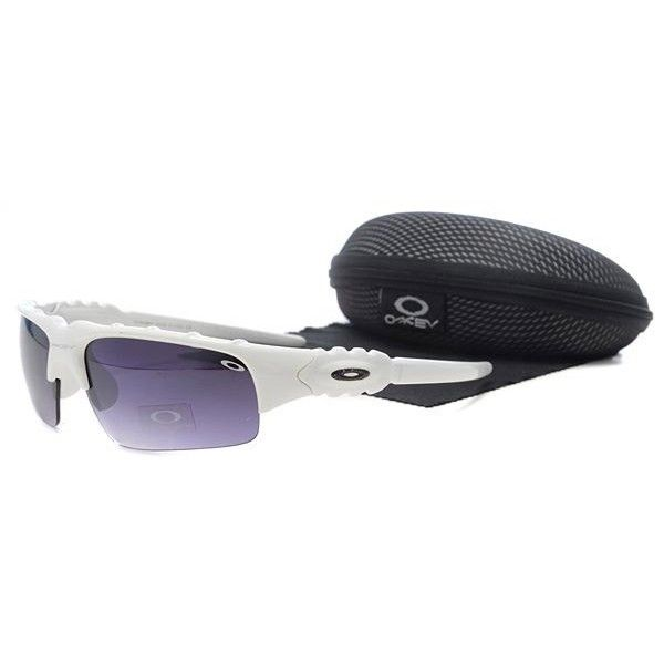 oakley flak jacket womens sunglasses  $13.99 discount oakley flak jacket sunglasses purple lens white frames shop deals racal.