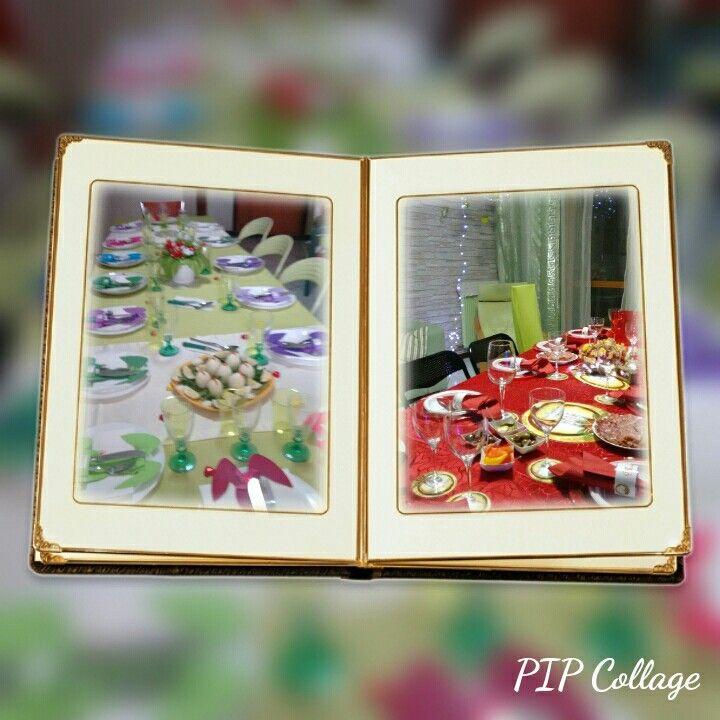 La mia tavola a Pasqua e a Natale