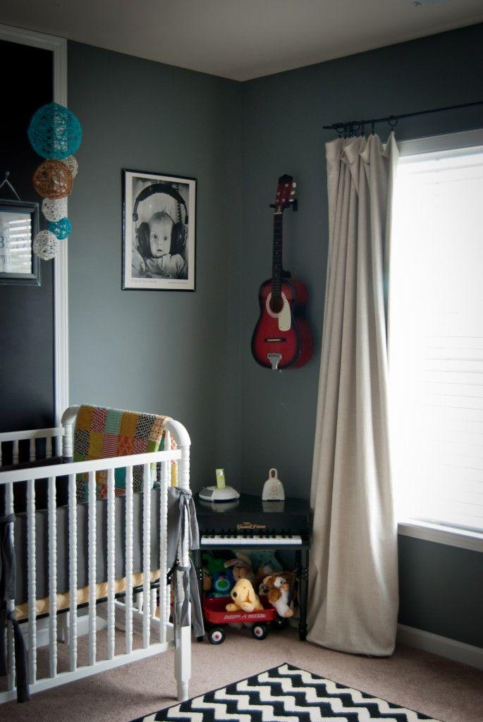 Music Corner - love this baby picture!