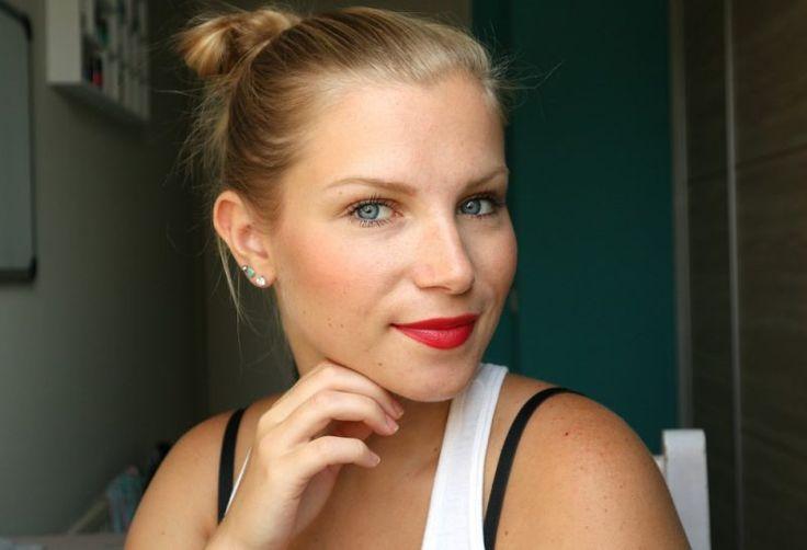 Zomer make-up look, summer tan make-up look. Meer op gekopmakeup.nl