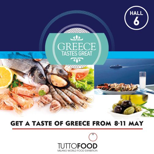 Discover Greece at #TUTTOFOOD2017 and taste the authentic Greek flavors.