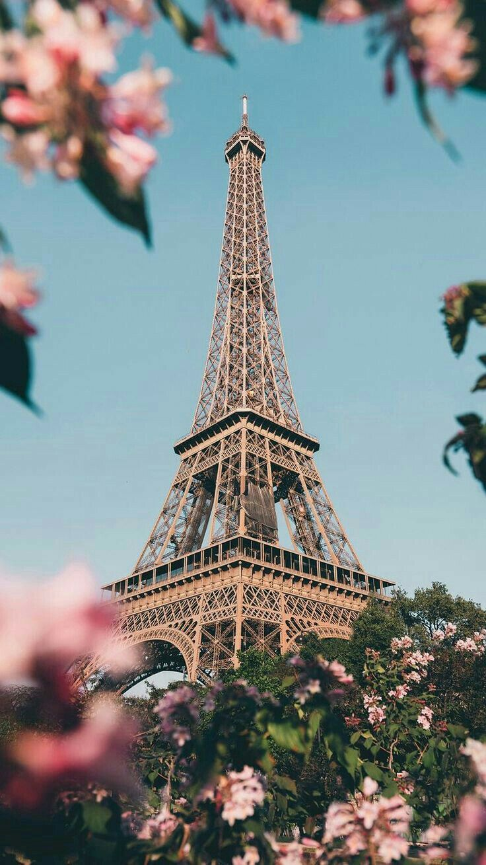 Wallpaper Menara Eiffel : wallpaper, menara, eiffel, Wallpaper, Indah,, Wisata, Prancis,, Indah