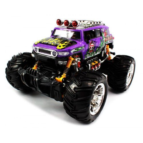 Big Size QUALITY Electric Full Function 116 Grave Digger Toyota FJ Cruiser Monster RTR RC Truck Colors MAy Vary QUALITY Remote Control RC Trucks w Working Suspension >>> Continue to the product at the image link.