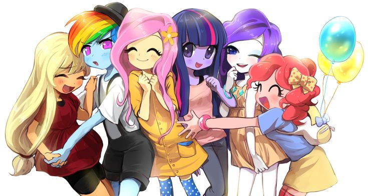 Tags: Fanart, Pixiv, My Little Pony, Twilight Sparkle, Applejack, My Little Pony: Friendship Is Magic, Pinkie Pie, Rainbow Dash, Rarity, Fluttershy, PNG Conversion, Fanart From Pixiv, Quizia